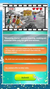 Screenshots - Vodafone Foundation Girl Rising Game