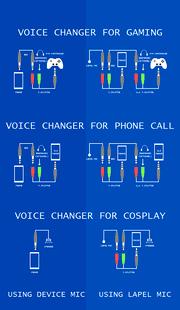 Screenshots - Voice Changer Mic: Cosplay - use lapel Mic/Speaker