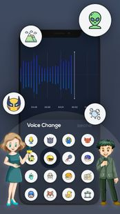 Screenshots - Voice Changer with Effects - Voice Editor
