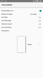 Screenshots - VolumeSlider