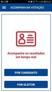 Screenshots - Votação OAB DF