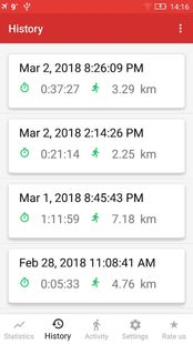 Screenshots - Walking for Weight Loss & Pedometer - Step Counter