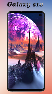 Screenshots - Wallpaper for S10 and theme Galaxy