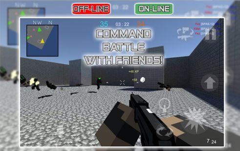 Screenshots - War Cube Online Offline Mobile Zombie Sniper Shoot