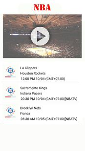 Screenshots - Watch NBA Basketball : Live Streaming for Free
