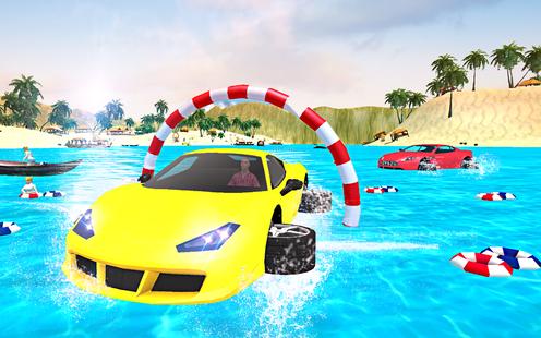 Screenshots - Water Surfer New Car Floating Race 2019