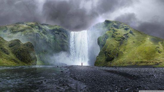 Screenshots - Waterfall live wallpaper