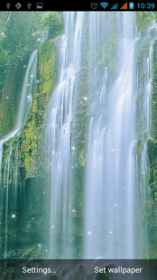 Screenshots - Waterfall Live Wallpaper