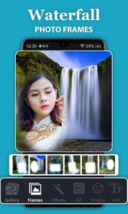 Screenshots - Waterfall Photo Frames - HD Background Frames
