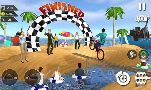 Screenshots - Waterpark Bicycle Surfing - BMX Cycling 2019