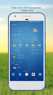 Screenshots - Weather & Clock Widget for Android Ad Free