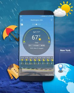 Screenshots - Weather map - Weather forecast