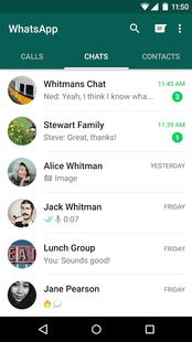 Screenshots - WhatsApp Messenger