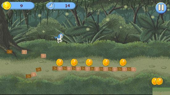 Screenshots - White Unicorn Dash