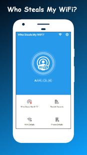 Screenshots - Who Steals My WiFi - WiFi Monitor & WiFi Scanner