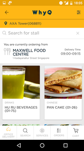 Screenshots - WhyQ: Hawker Delivery