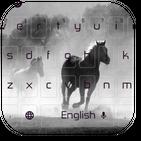 Wild Horses Keyboard Theme