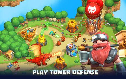 Screenshots - Wild Sky TD: Tower Defense Legends in Sky Kingdom