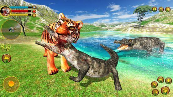 Screenshots - Wild Tiger Simulator 3d animal games