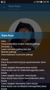 Screenshots - Winnie Nwagi offline songs