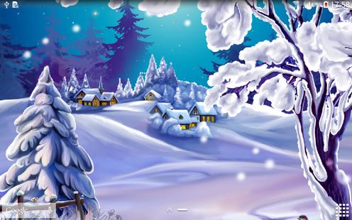 Screenshots - Winter Landscape Wallpaper