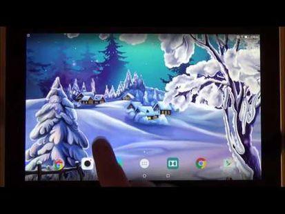 Video Image - Winter Landscape Wallpaper