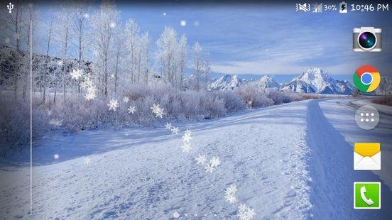 Screenshots - Winter Snow Live Wallpaper HD