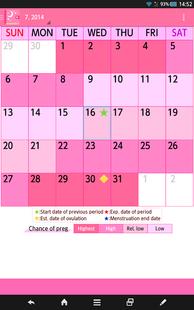 Screenshots - Woman's DIARY period・diet・cal