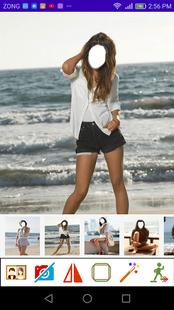 Screenshots - Women Beach Beauty Photo Frames
