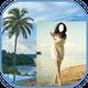 Women Beach Beauty Photo Frames