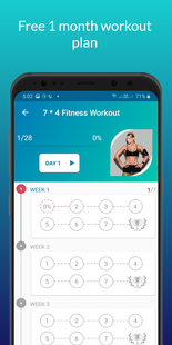 Screenshots - Women Workout at Home - Home Gym, Female Fitness