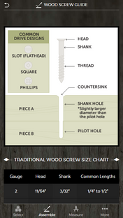 Screenshots - Wood Crafter: The Do It All Woodworking App