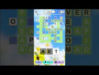 Video Image - Word Crossing ∙ Crossword Puzzle