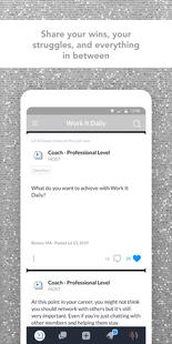 Screenshots - Work It Daily