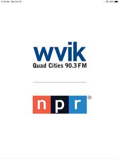 Screenshots - WVIK Quad Cities NPR