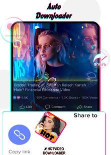 Screenshots - X HOT Video downloader - All Video Downloader