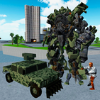 X Ray Robot : Zombie Offroad
