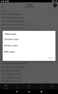 Screenshots - XME LOOPS