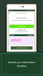 Screenshots - Xplore Dundee Bus mTicket