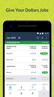 Screenshots - YNAB — Budget, Personal Finance