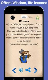 Screenshots - Yoruba Proverbs : Audio and Meanings - Òwe Yorùbá