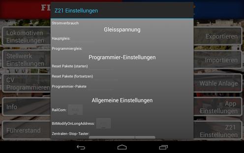 Screenshots - Z21 mobile