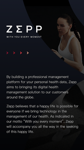 Screenshots - Zepp (formerly Amazfit)