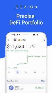 Screenshots - Zerion - DeFi portfolio