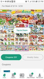 Screenshots - Zion Market Rewards
